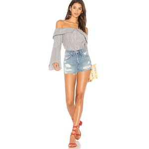NWT Lovers + Friends Jack high shorts